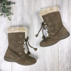Sporto Waterproof Suede Leather Boots